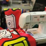 ひな祭りバナー製作&のぼり旗の出来るまでをご紹介。