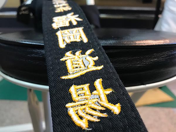 刺繍の裏側