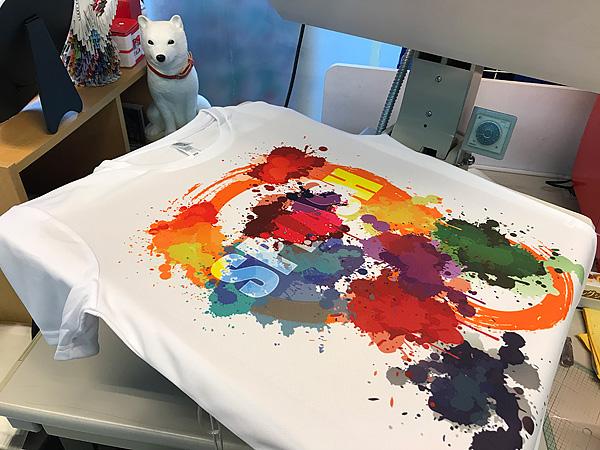 Tシャツ昇華転写テスト