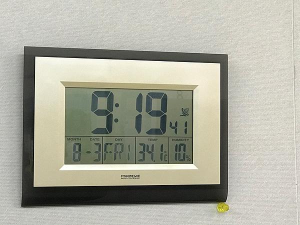 朝から43℃