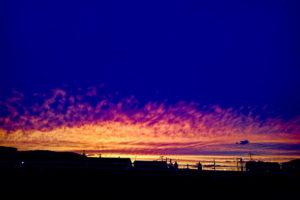 2018.10.11福岡の夕焼け