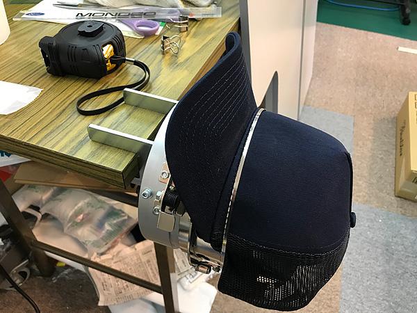 刺繍帽子用型枠