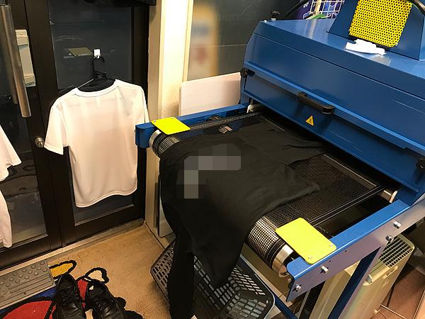 Tシャツ用大型乾燥機