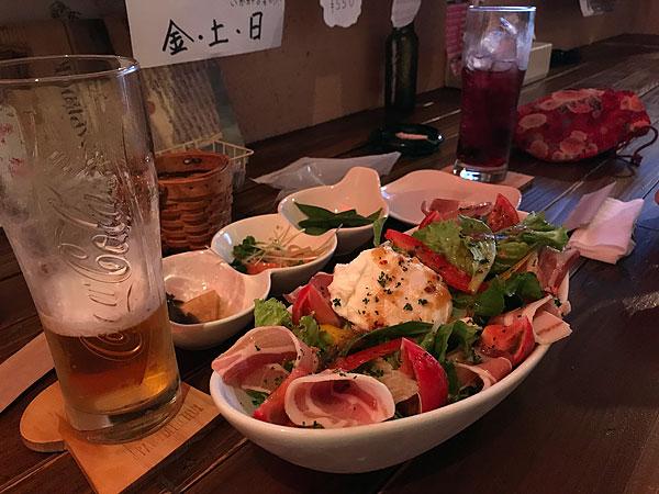 居酒屋サラダ
