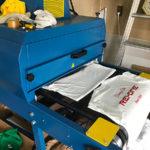 ベルトコンベア式乾燥機