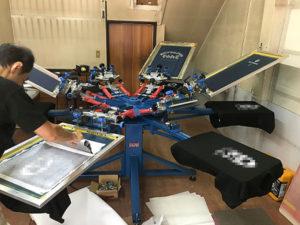 プリントTシャツ印刷機