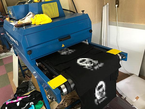 プリントTシャツ乾燥機