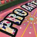 SoftBankホークス-タカガールユニフォームに刺繍で名入れ。