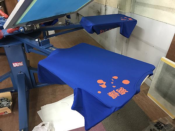 Tシャツ印刷機