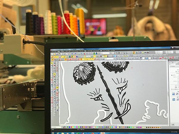 刺繍データ制作