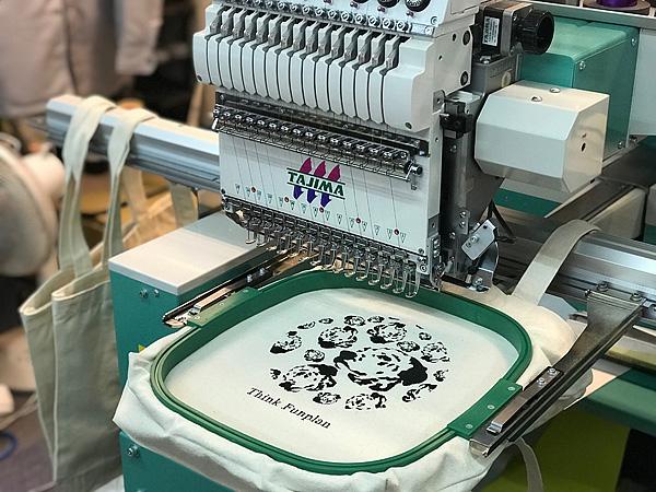 ダルメシアン刺繍