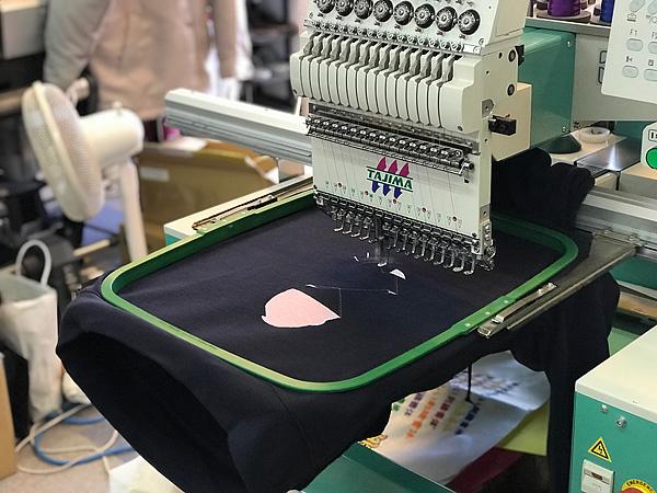 453eee刺繍トレーナー