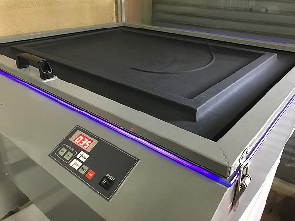 シルク印刷製版用露光機