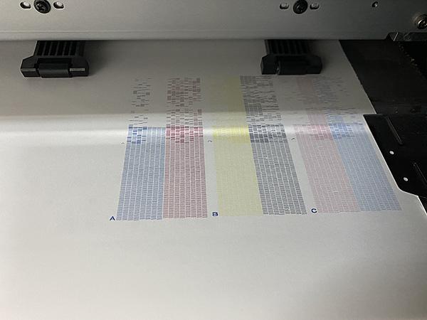 テスト印字
