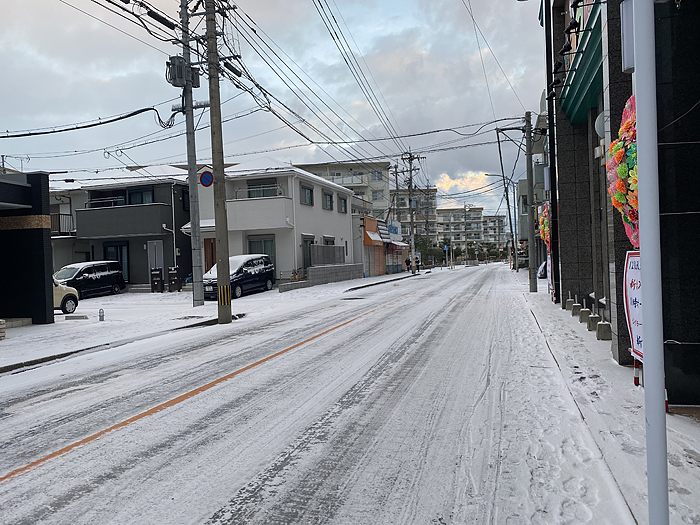 202101福岡積雪でした