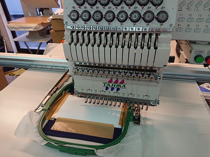 15色大型刺繍機
