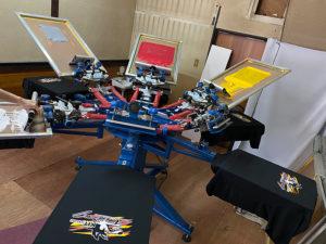 シルク印刷用回転台