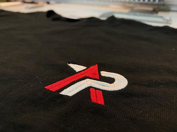 Tシャツ刺繍