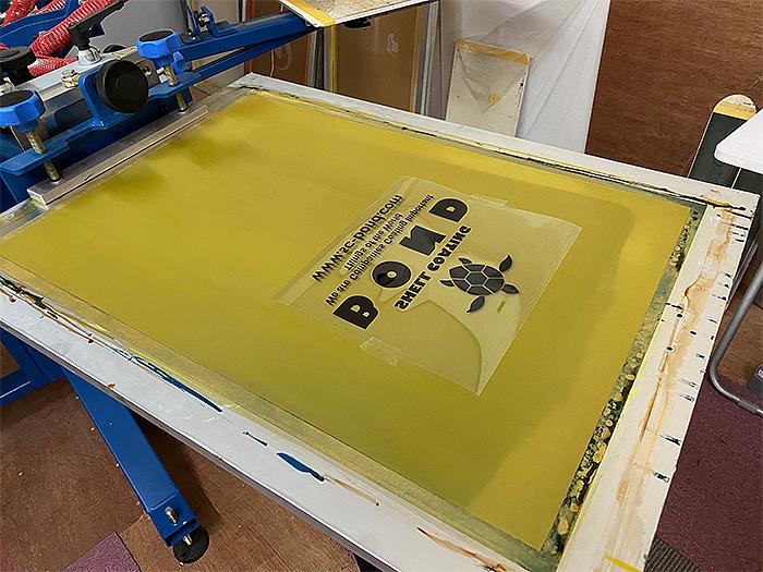 シルク印刷の製版